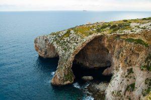 Blaue Grotte Felsbogen