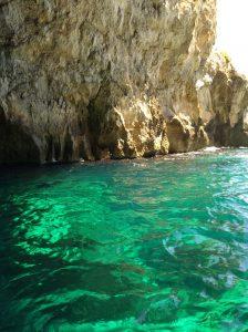 Blaue Grotte türkis