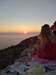 Sonnenuntergang Dingli Cliffs
