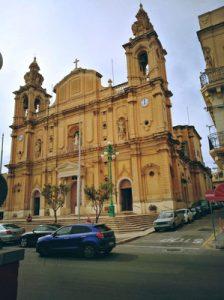 Msida Kirche Außenansicht